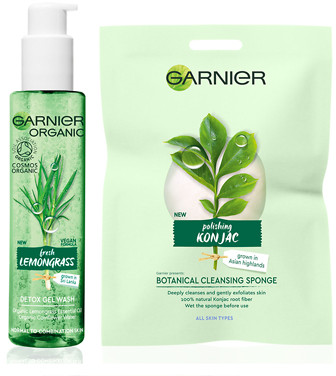 Garnier Organic Cleansing For All Skin Types Set