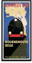Bed Bath & Beyond Bournemouth Belle Vintage Travel Printed Canvas Wall Art
