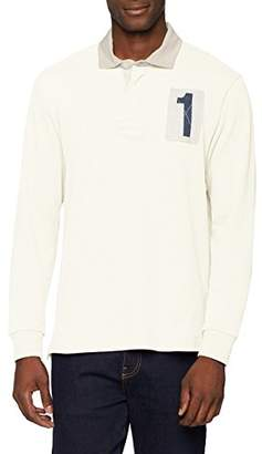 Hackett HKT by Men's HKT 1 Rugby Polo Shirt,X-Large