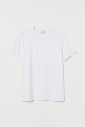 H&M Premium Cotton T-shirt - White