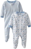 Gerber Baby-Boys Organic Zip-Front Sleep and Play 2-Pack