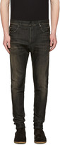 Balmain Black Low-Rise Jeans