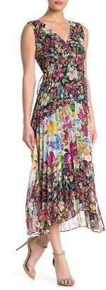 Taylor Chiffon Floral Print Dress