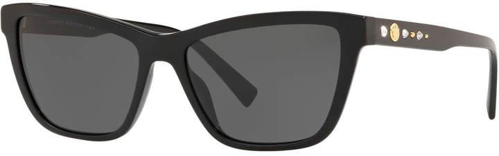 888f42215e5a2 Versace Studded Sunglasses - ShopStyle