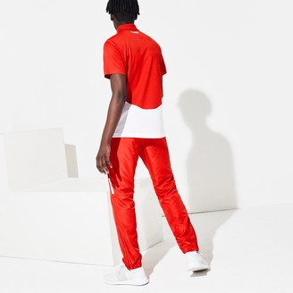 Lacoste Men's SPORT Lightweight Color-Block Track Pants