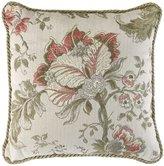 Veratex Rosario Floral Jacquard Square Pillow