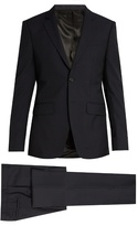 Givenchy Notch-lapel Single-breasted Wool Suit