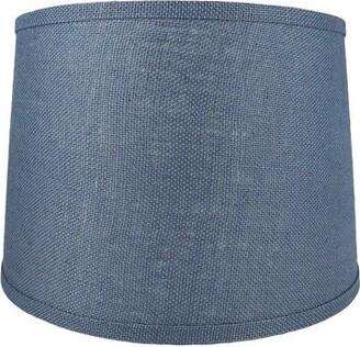 "Charlton Homeâ® French 14"" Acrylic Drum Lamp Shade Charlton HomeA Color/Finish: Denim Blue"