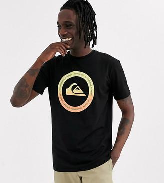 Quiksilver black t shirt