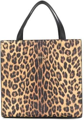 Liu Jo leopard print tote bag