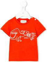 Gucci Kids dragon print T-shirt
