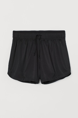H&M Mesh Sports Shorts - Black