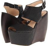 MLE Valerie (Black Croc) - Footwear