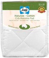 Sealy Naturals - Cotton Crib Mattress Pad
