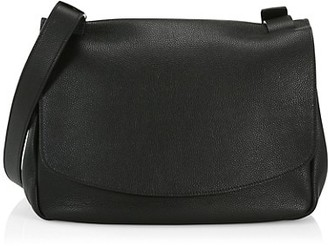 The Row Small Pebbled Leather Mail Bag