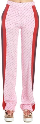 Stella McCartney All-Over Logo Fitted Pants