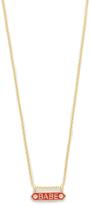 Nora Kogan Babe Necklace with Diamonds