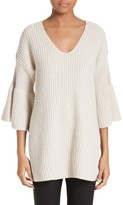Derek Lam 10 Crosby Women's Bell Sleeve Tunic Sweater