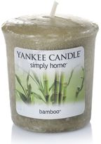 Yankee Candle simply home Bamboo Votive Candle