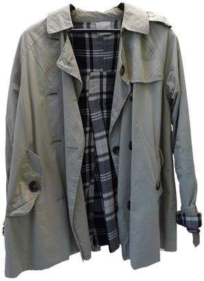 Laurence Dolige Ecru Cotton Trench Coat for Women
