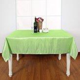Deconovo Patio Tablecloth Dining Tablecloth Decorative Kitchen Square Tablecloth 54 x 54 Inch Green