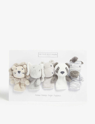 The Little White Company Animal finger puppets