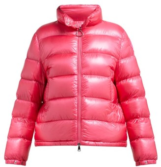 Moncler Copenhague Quilted Down Jacket - Pink