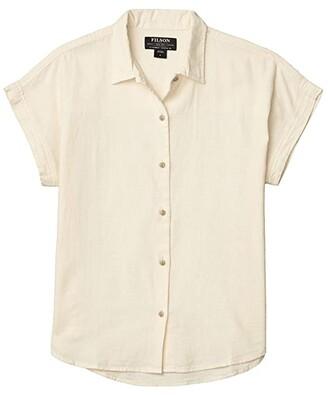 Filson Northwest Camp Shirt (Birch) Women's Clothing