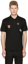 Alexander McQueen Black Badges Polo