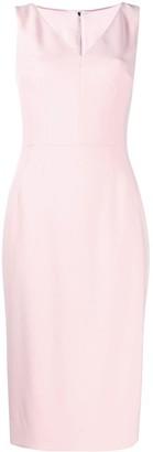 Dolce & Gabbana V-neck midi dress