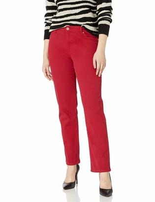 Bandolino Women's Size Mandie Signature Fit High Rise Straight Leg Jean