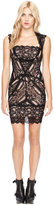 Nicole Miller Eva Black Lace Dress