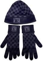 Louis Vuitton Black Wool Hats & pull on hats