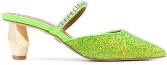 Kurt Geiger Dania slip-on heeled mules