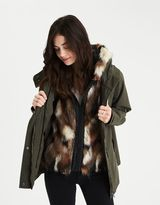 American Eagle Outfitters AE 2-in-1 Faux-Fur Vest Parka