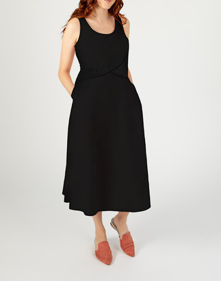 Madewell Madri Collection Crossover Dress