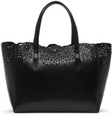 Reiss Hollie Laser-Cut Tote