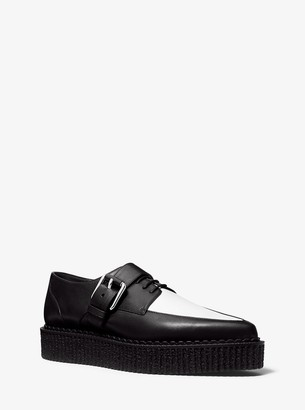 Michael Kors Velma Calf Leather Creeper