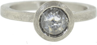 Todd Reed Fancy Cut Diamond Solitaire Ring