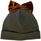Federica Moretti bow embroidered hat