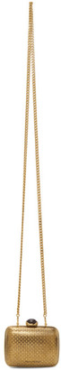 Alexander McQueen Gold Mini Clutch