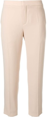 Chloé Mid-Rise Cropped Trousers