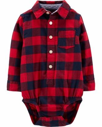 Osh Kosh baby boys Woven Bodysuit Button Down Shirt