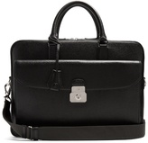 Dunhill Albany leather briefcase