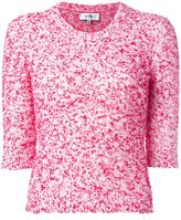 Carven Dina jumper - women - Cotton/Acrylic/Polyamide - L