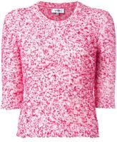 Carven Dina jumper - women - Cotton/Acrylic/Polyamide - L