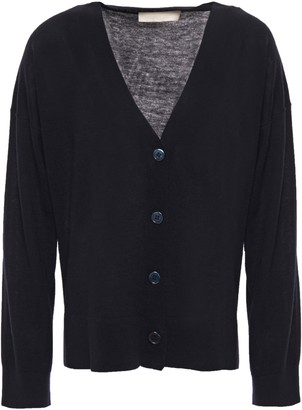 Vanessa Bruno Wool, Silk And Cashmere-blend Cardigan