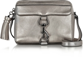 Rebecca Minkoff Gunmetal Laminated Leather Mab Camera Bag