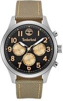 Timberland 'Rollins' Multifunction Nylon Strap Watch, 54mm