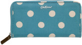 Cath Kidston Button Spot Continental Zip Wallet
